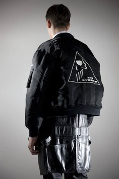 raf simons pyramid bomber 3 Third Looks Feature: The Best Mens MA 1s