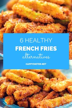 Image of 6 Healthy French Fries Alternatives (Bake Fries Low Carb) Healthy Appetizers, Appetizer Recipes, Healthy Snacks, Healthy Recipes, Healthy French Fries, Healthy Fries, Healthy Eating Tips, Clean Eating Snacks, Healthy Chip Alternative