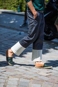 Street looks à la Fashion Week homme printemps-été 2016 de Paris 19