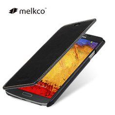 Melkco Premium Leather Book Case for Samsung Galaxy Note 3 - Black at MobileFun