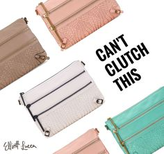Rock the Bali '89 3 Zip as a crossbody or a clutch to take you from day to night! Shop now.