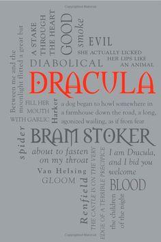 Dracula (Word Cloud Classics): Bram Stoker: book cover