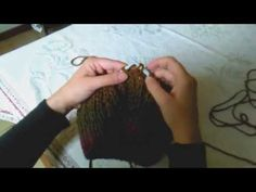 (3) La maglia brioche in tondo - YouTube