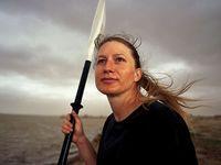 Kira Salak (born 1971), travelled in Mali and Papua New Guinea.