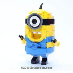 LEGO Despicable Me Minion von BricksBen auf Etsy