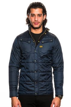 new arrival de009 884f0 G-Star 5620 Ski Quilted Overshirt Python
