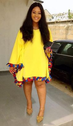 Call, SMS or WhatsApp 2348144088142 if you want this style, needs a skilled tailor to hire or you want to expand more on your fashion business. African Fashion Ankara, Latest African Fashion Dresses, African Print Dresses, African Print Fashion, Africa Fashion, African Dress, African Attire, African Wear, Ankara Styles