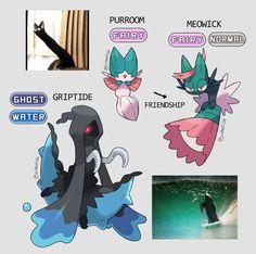 """Made some more pokemon inspired by memes/cursed images"" Rayquaza Pokemon, O Pokemon, Pokemon Comics, Pokemon Fan Art, Pokemon Cards, Pokemon Images, Pokemon Pictures, Pokemon Breeds, Pokemon Fusion Art"