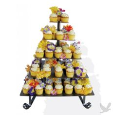 i really like this cupcake stand... but i cant afford $262.98 when i could make something like it for probably 20 bucks