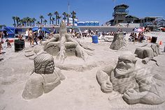Image detail for -Open Sandcastle Competition, Imperial Beach, San Diego, California ...