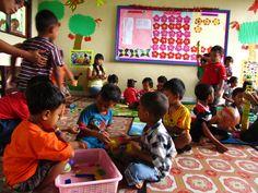 Kindergarten project in play!