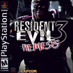 Box art for Resident Evil 3: Nemesis. Check out my retrospective on the game at the link!