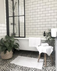 FEJKA in/outdoor String of beads, Artificial potted plant - IKEA Loft Bathroom, Bathroom Renos, Small Bathroom, Bathroom Inspiration, Bathroom Inspo, Bathroom Ideas, Persimmon Homes, Warehouse Living, Shower Screen