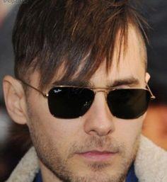 ab94319eef8 Jared Leto in Ray Ban Caravan Sunglasses  sunglasses  style  fashion Ray  Ban Sunglasses