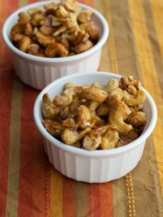 Honey Cinnamon Roasted Cashews