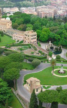Vatican Gardens, Rome, Italy