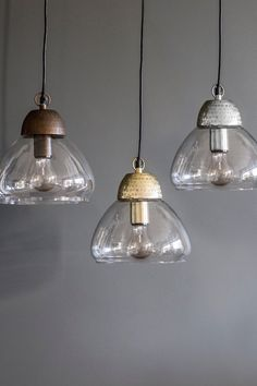 Glass jar ceiling lamp short kitchen pinterest ceiling etched metal glass pendant lights the forest mozeypictures Images