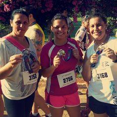 Pronto!!!! 5km na planilha. Medalha no pescoço e alma lavada no suor. Primeiro de muitos! #run #boracorrer #correrfazbem #endorfina #vicio by wanessamoraiis http://ift.tt/22kiome