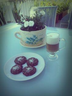 latte & oatmeal