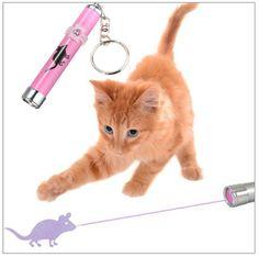 Cat LED Mouse Laser Toy