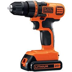 Black & Decker MAX Lithium-Ion Cordless Drill/Driver Product note: the color and logo design of this kit may… Cordless Drill Reviews, Cordless Tools, Property Brothers, Led Work Light, Work Lights, Light Touch, Stripped Screw, Decoration Originale, Atelier