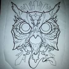 Owl with Snake Tongue