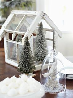 A renovated Kansas schoolhouse decked out for the holidays shows how snow-white decor keeps things cozy while feeling fresh and festive.