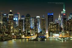 Midtown Manhattan by Bobi Dojcinovski   https://www.facebook.com/365NewYorkCity