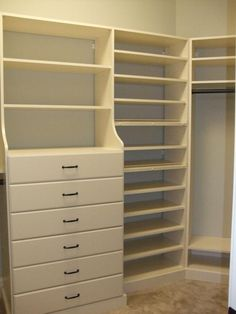 built drawers drawer step basic system the closet custom in build