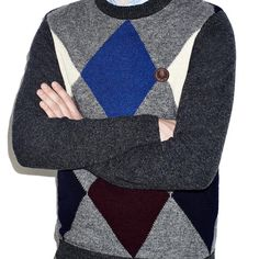 "#FredPerry ""Shetlabn Wool Argyle Crew Neck Jumper"" ##colaboracion #colaboration ""JC Rennie"" #jersey #sweater #fredperryoriginal #fredperryauthentic #lana #wool #lanashetland #woolshetland #nuevacoleccion #newcollection #AW15  http://www.rivendelmadrid.es/shop/marcas-de-rivendel-madrid/hombre/fred-perry/jerseys.html"