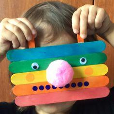 Rainbow Robot / http://letsmakeart.co.uk/