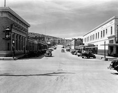 Corner of Broadway and Bullard Sts.  Early Silver City, NM photo