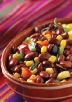 Black Bean Salad  This is a healthy recipe that is perfect for lunch or to bring to a potluck