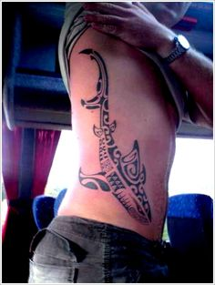 Shark Tattoo Designs: The Tribal Shark Tattoo Designs And Meaning For Men ~ tattooeve.com Tattoo Design Inspiration