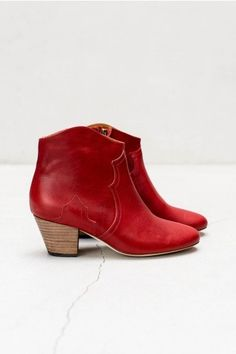 Bordeaux Dicker Boot by Isabel Marant
