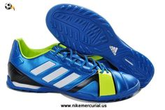 wholesale dealer 507aa 951e0 New Adidas Nitrocharge TRX TF BlueWhiteElectricity Football Boots Shop