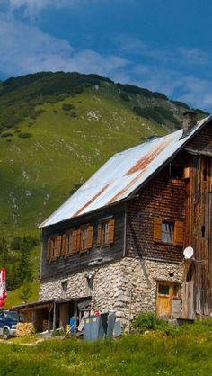 Alps, Karwendel, Tirol, Plumsjochhütte - Germany