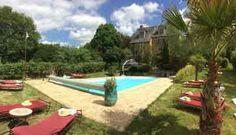 Piscine des Chambres d'hôtes à vendre à Saint-Brice dans la Mayenne