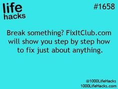 Improve your life one hack at a time. 1000 Life Hacks, DIYs, tips, tricks and More. Start living life to the fullest! Hacks Diy, Home Hacks, Cleaning Hacks, Simple Life Hacks, Useful Life Hacks, Awesome Life Hacks, Life Hacks Websites, Life Hacks Netflix, Hack My Life