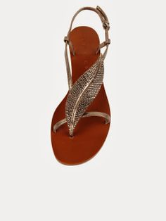 Ladies Feather Flats Click for more