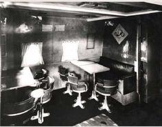 Late' 631 salon. Photos of the interior of the 631 are extremely rare.