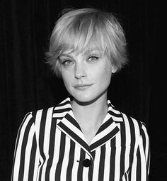 Jessica Stam proves that going short can mean all sorts of stunning!