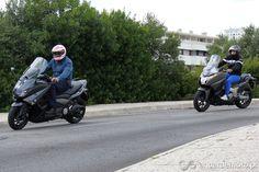 Comparativo Honda Integra 750 e Yamaha TMAX 530