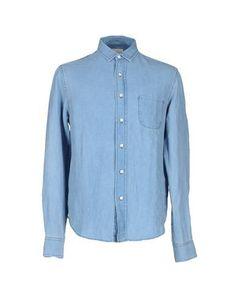 SIMON MILLER Denim shirt. #simonmiller #cloth #top #pant #coat #jacket #short #beachwear