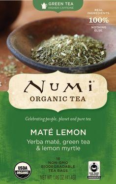 http://www.amazon.com/dp/B003UMI3G8/?tag=gosgaofed0b-20 ~ Numi Organic Tea Mate Lemon, Yerba Mate, Green Tea and Lemon Myrtle, 18-Count Tea Bags (Pack of 2) by Numi, http://www.amazon.com/dp/B003UMI3G8/?tag=gosgaofed0b-20