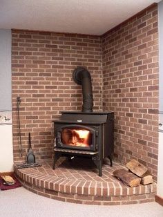 I would like this hearth if it were painted or whitewashed.