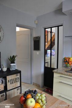 Remplacer une porte par une verrière d'intérieur