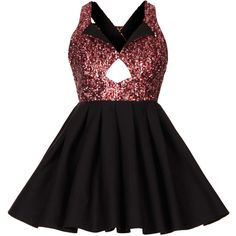 TOPSHOP **Tan Dress by Jones and Jones ($95) ❤ liked on Polyvore featuring dresses, vestidos, pink, black dress, sparkly dresses, pink black dress, black sequin cocktail dress and sparkly cocktail dresses
