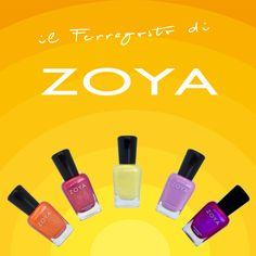 I colori dell'#estate by #Zoya :) Una selezione di tonalità super estive per soddisfare tutti i gusti! Zoya Oc Cooler Zoya Mieko Zoya Bekka Zoya Perrie Zoya Blyss #zoyanailpolish #nailpolish #summer #estate #estate2015 #smalto #nailart #nails #beauty #makeup #veganmakeup #veganlife #veg #toxicfree