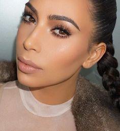 Details  @kimkardashian. Hair @justinemarjan #MakeupByMario